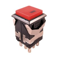 Pushbutton Switch DKD2-621 Red Off On with lamp