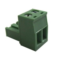 Terminal block pluggable 2 pin Female p5.08mm