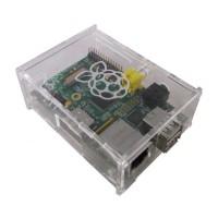 Raspberry Pi Type B Case, Acrylic Clear IC01