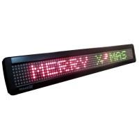 LED Message Display 66x9,8cm , single line, 7x80 dots, Tricolor