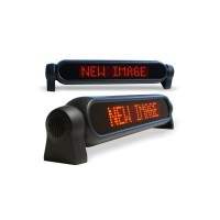 LED Message Display for Vehicle, 43,3x9,4cm, single line, Red