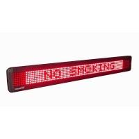 LED Message Display w/ 95 Pixels Width, 83,5x9,8x3,5cm, single line, 7x95 dots, Red