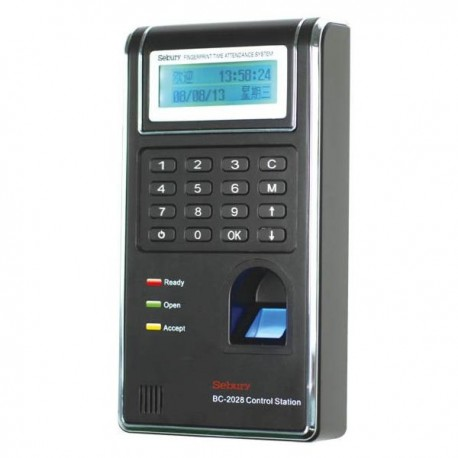 BC-2028 Networking Fingerprint Time Attendance, support TCP/IP