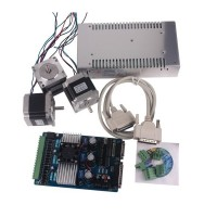 3 Axis CNC Stepper Motor NEMA23 Kit