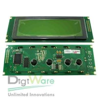 Graphic LCD 240x64 STN, Yellow Green Background, Yellow-Green Backlight, 180.0x62.0x12.3 mm