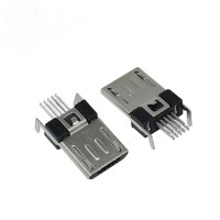 MICRO USB CONNECTOR type B 5P MALE SMT
