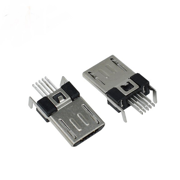 Micro Usb Connector Type B 5p Male Smt Digiware Store
