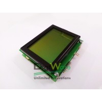 DT-I/O Graphic LCD 128x64 Yellow Green Backlight Ver 3.0
