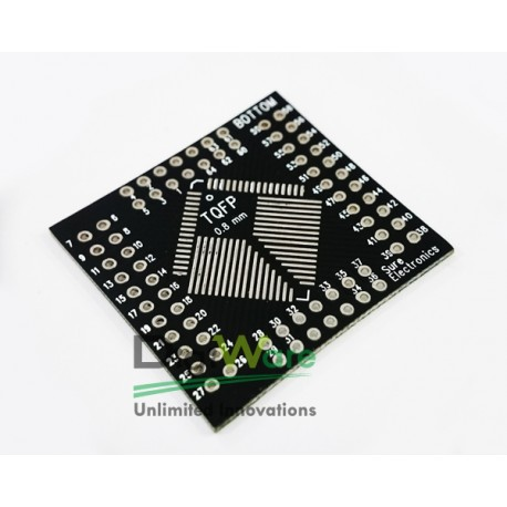 32 ~ 64 Pin TQFP To DIP PCB Adapter / Converter