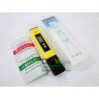 Digital pH Meter 0.01 Auto Calibrate + Bubuk Kalibrasi