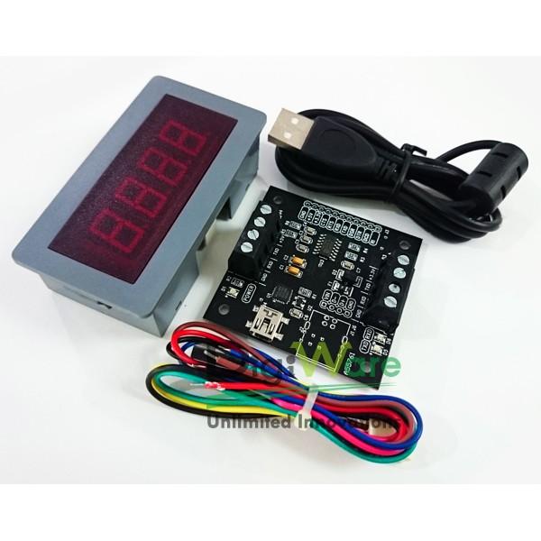 Multifunction Panel Meter : Me dv  digital red led v multifunction panel