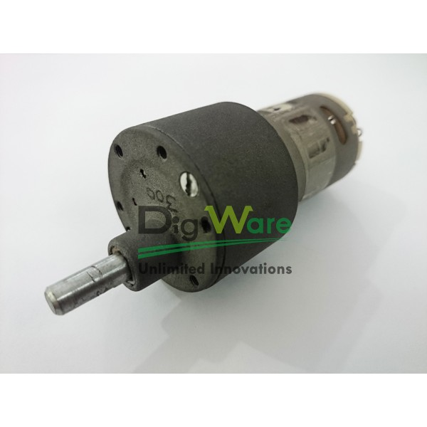 High Torque Dc Geared Motor 300rpm Digiware Store
