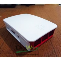 Case Raspberry Pi 3 Red White