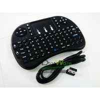 Mini Keyboard Mouse Wireless Touchpad 92 Keys QWERTY