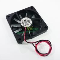 Fan 6x6cm 12VDC