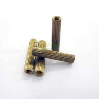 Gold Spacer 2x16 mm
