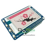 264x176, 2.7inch E-ink display HAT for Raspberry Pi, three color