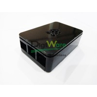 Raspberry Pi 3 ABS Case Black Enclosure