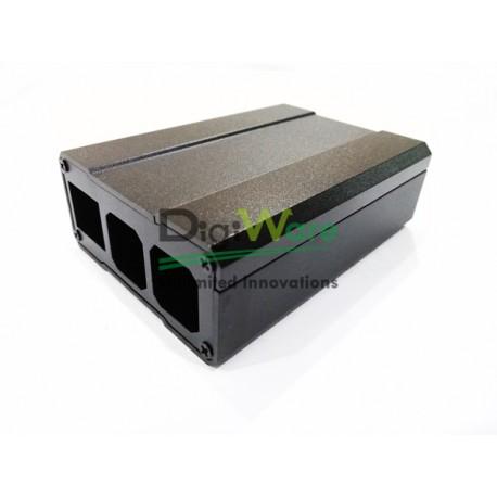 Raspberry Pi 3 Aluminum Case Black Metal Enclosure