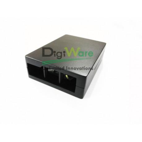 Raspberry Pi 3 Aluminum Case Black Metal Enclosure (RPI-C5)