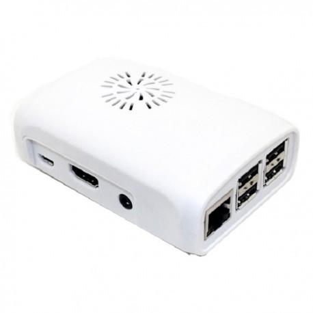 Raspberry Pi 2, Pi 3 & Raspberry Pi Model 3 B+ Case - White