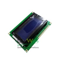 Character LCD 16x4 Blue Backlight (1604A)