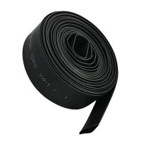 Heat Shrinkable Tube Black 15mm Black (1 meter)