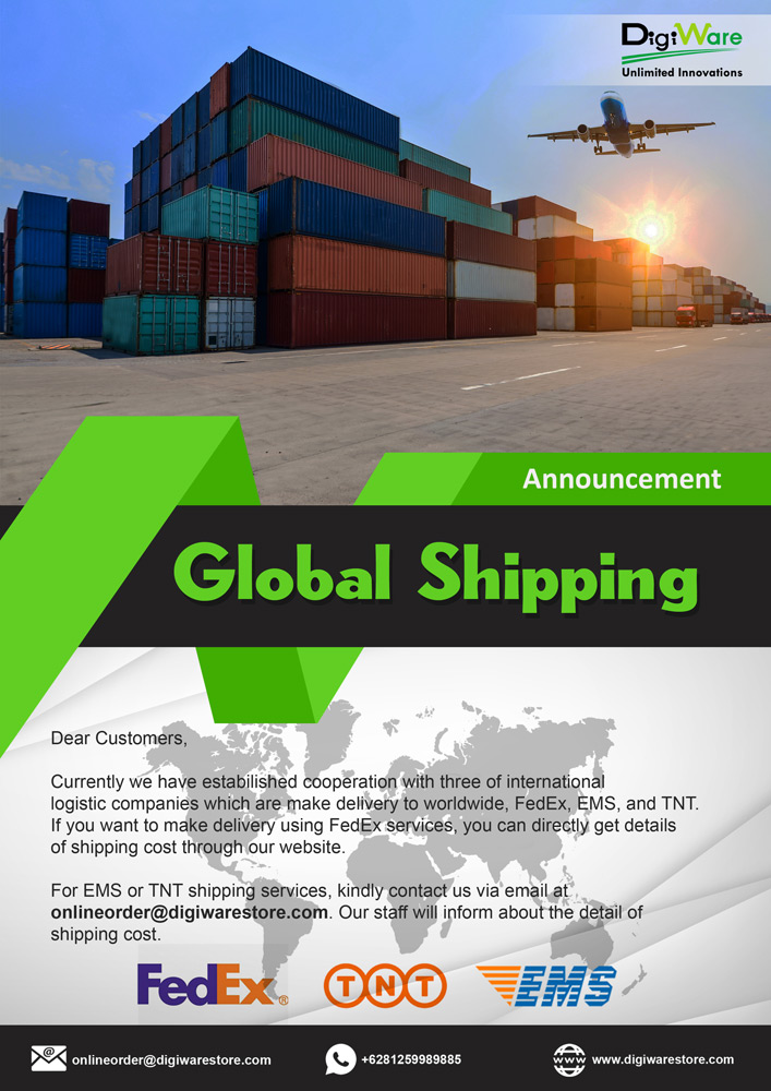 DigiWare Global Shipping