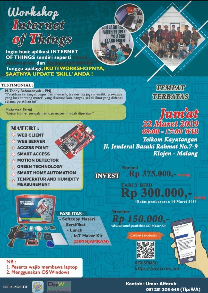 Workshop Internet of Things