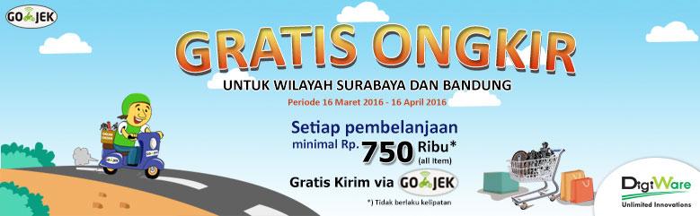 FREE ONGKIR GO-JEK