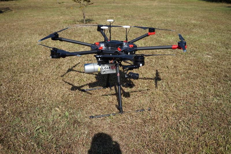 LiDAR Pada Drone