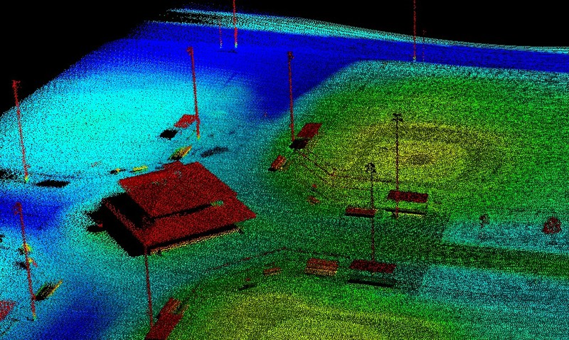 Hasil 3D Mapping Lidar