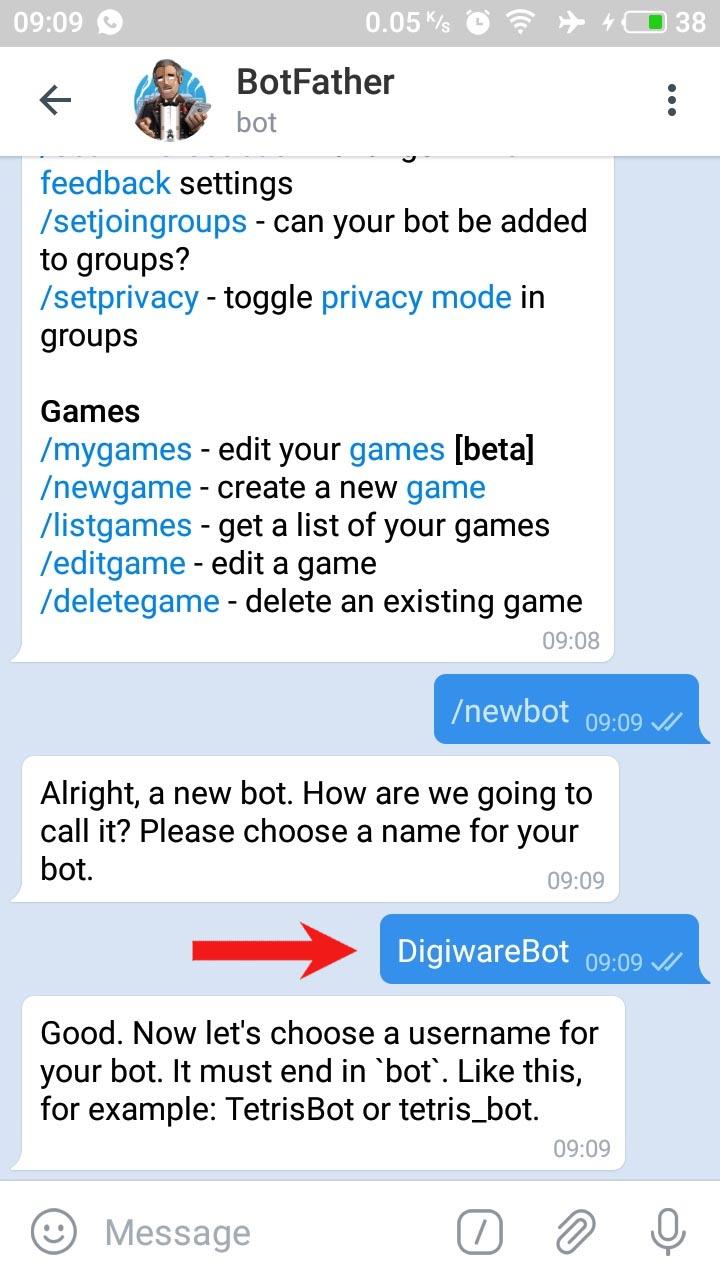 Langkah Telegram