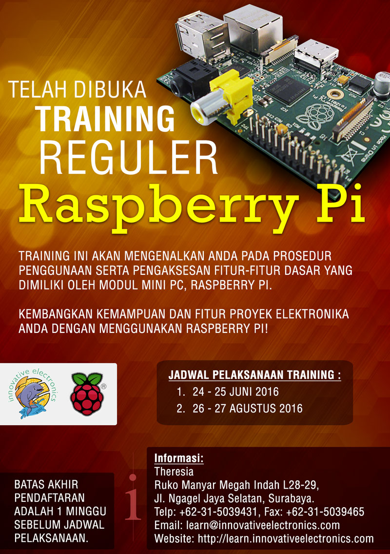 Training Reguler Raspberry Pi