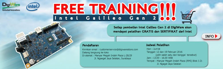 Free Training Intel Galileo Gen 2