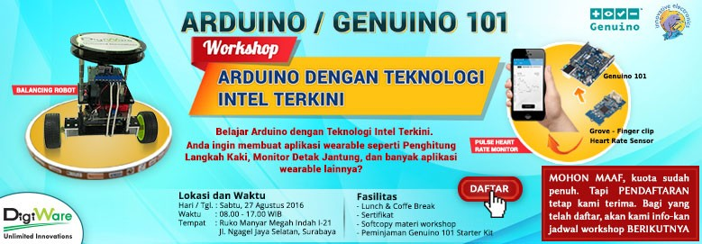 workshop genuino 101