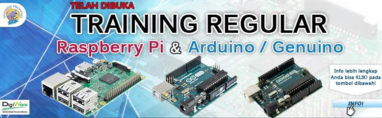 Training Regular Raspberry PI dan Arduino - Genuino