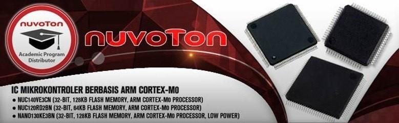 Nouvton - IC Mikrokontroler berbasis ARM Cortex-M0