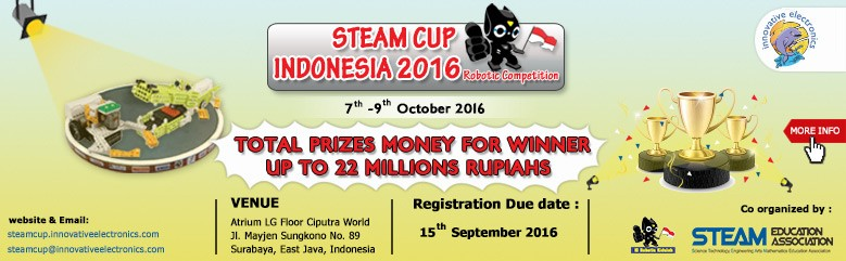STEAMCUP INDONESIA 2016