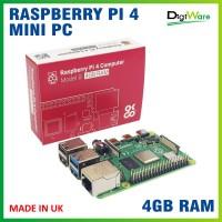 Raspberry Pi 4 RAM 4GB Made In UK / Mini PC Raspi 4