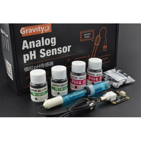 Gravity: Analog pH Sensor / Meter Kit For Arduino Ver.2