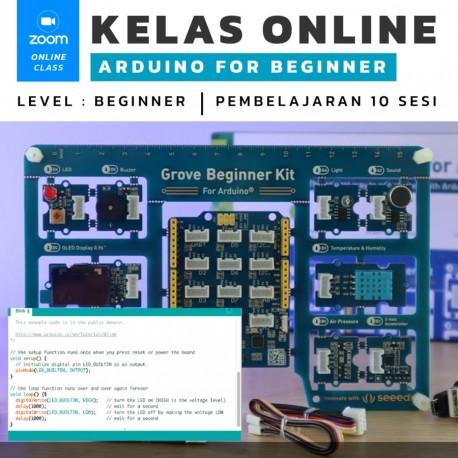 Kelas Online Arduino For Beginner include Beginner Kit for Arduino All in One