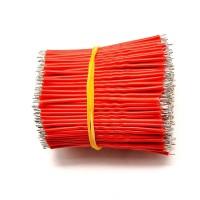 Kabel Jumper Breadboard PCB AWG24 Serabut 10cm Merah