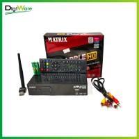 Set Top Box TV Digital DVB T2 Matrix Garuda Original Garansi - RCA Dongle