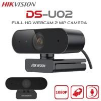 Hikvision DS-U02 Webcam HD 1080P 2MP Built In Mic USB