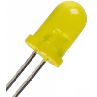 Led Yellow Super Bright Diffused 5mm