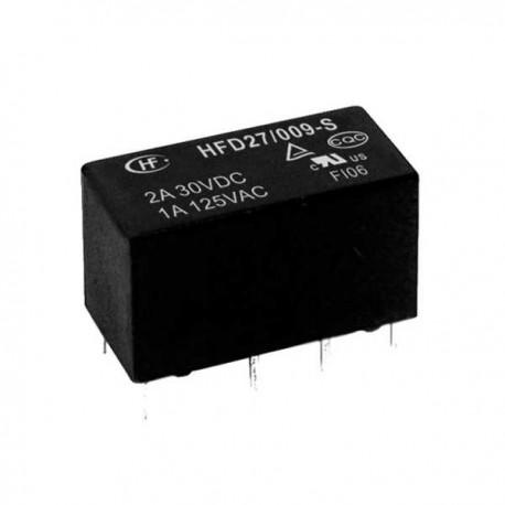 Relay DPDT 5VDC 1A/125VAC HFD27/5-S