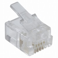 Telephone Modular Plug 6P4C