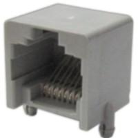 Telephone Modular Jack 8P8C Low Profile