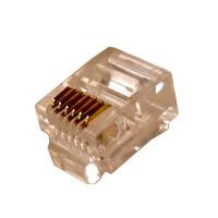 Telephone Modular Plug 6P6C